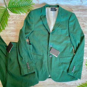 ASOS Green Blazer & Pants Set